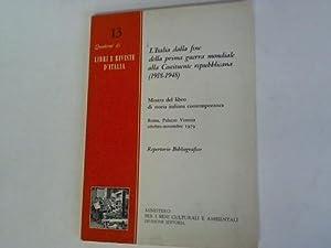 L' Italia dalla fine della prima guerra: Gentilini, Mauro