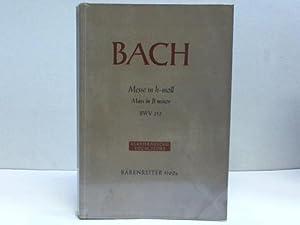 Johann Sebastian Bach. Missa Symbolum Nicenum Sanctus: Müller, Gottfried