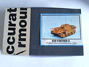 Panther II, K 59, 1:35th scale model. German WWII Experimental Tank