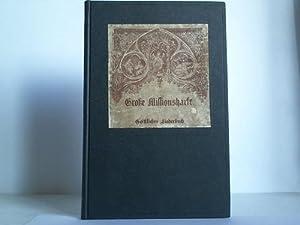 Geistliches Liederbuch für gemischten Chor, sowie für: Große Missionsharfe