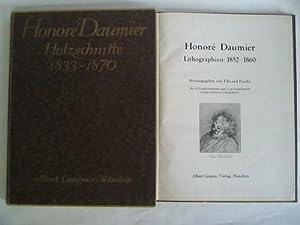 Honoré Daumier. Holzschnitte: 1833 - 1870 /: Fuchs, Eduard (Hrsg.)