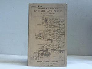England and Wales. Ordnance survey map. Sheet 130
