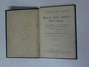Shakespeare's comedy of much ado about nothing: Shakespeare