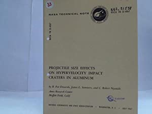 Projectile size effects on Hypervelocity. NASA TN D-4067