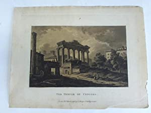 The Temple of Concord (Concordiatempel in Rom).: Merigot, James (1760