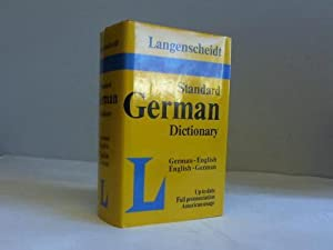 Langenscheidts Standard Dictionary of the english and german languages. English - German