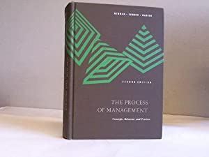 The process of management. Concepts, behavior and: New,am. William H./Summer,