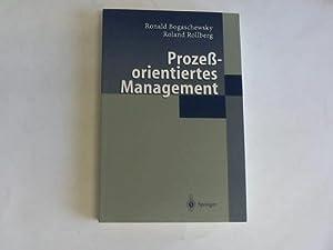 Prozeßorientiertes Management: Bogaschewsky, Ronal/Rollberg, Roland