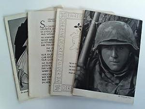 SS-Leitheft. 4 verschiedene Hefte: Reichsführer der SS