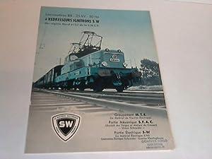 Locomotives BB - 25 kV - 50: Groupement M.T.E./ Partie
