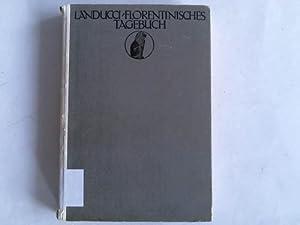Luca Landucci. Ein Florentinisches Tagebuch. Das Zeitalter: Herzfeld, Marie (Hrsg.)
