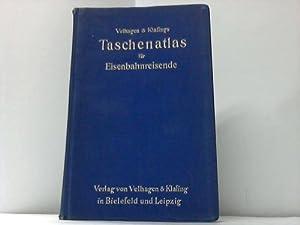 Velhagen und Klasings Taschenatlas für Eisenbahnreisende: Ambrosius, Ernst / Tänzler, Karl (...