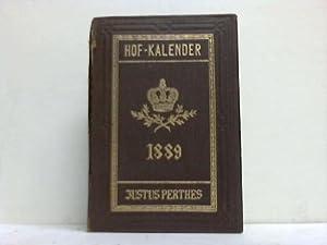 Gothaischer Genealogischer Hofkalender nebst Diplomatisch-Statistischem Jahrbuch 1889: Gotha