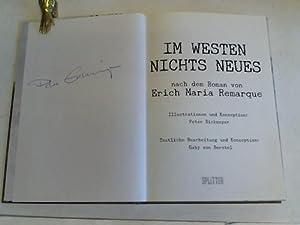 Im Westen nichts Neues. Nach dem Roman: Eickmeyer, Peter /