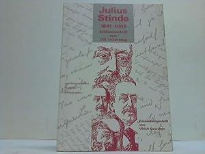 Julius Stinde 1841 - 1905. Jubiläumsschrift zum 150. Geburtstag: Goerdtgen, Ulrich (Hrsg.)
