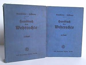 Handbuch des Wehrrechts. 2 Bände: Brandstetter, Elmar / Hoffmann, E. H.