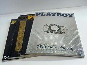 Sammlung von 4 Jubiläumsheften: Playboy