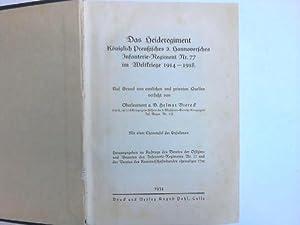 Das Heideregiment: Regimentsgeschichte - Viereck,