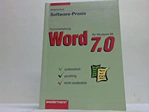 Software-Praxis Textverarbeitung Word 7.0 für Windows 95