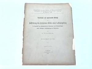 Theoretische und experimentelle Beiträge zur Aufklärung des dreifachen Bildes einer ...