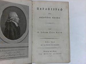 Andachtsbuch für aufgeklärte Christen. 2 Bände in einem: Thieß, Johann Otto