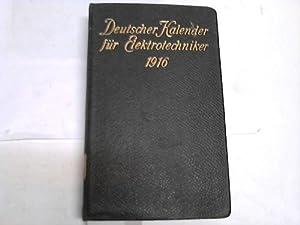 Deutscher Kalender für Elektrotechniker: Dettmar, G. (Hrsg.)