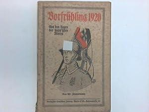 Vorfrühling 1920. Aus den Tagen der Kapp schen Wirren: Zimmermann, Ad.