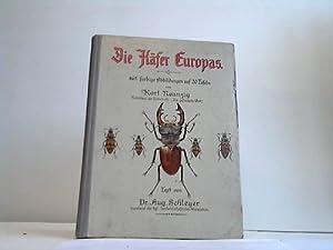 Die Käfer Europas. 465 farbige Abbildungen auf 20 Tafeln von Karl Neunzig: Schleyer, Aug.