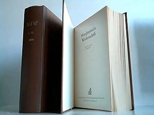 41. Jahrgang 1988. 1. und 2. Halbband. 2 Bände: Neue juristische Wochenschrift