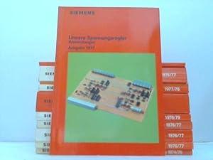 Siemens AG. 11 verschiedene Handbücher: Daten-Handbücher