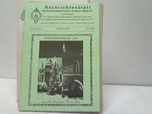 7 verschiedene Hefte: Regimentsgeschichte - Goslarer Jäger 10