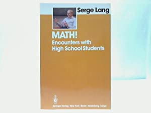 Math! Encounters with High School Students: Lang, Serge