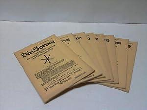 Monatsschrift für nordische Weltanschauung und Lebensgestaltung. 6 Ausgaben (Jan.-Juni): Sonne...