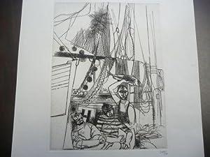 Fischer mit Netzen: Lentz, Herbert (*1919)