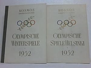 Olympische Spiele Helsinki 1952 / Olympische Winterspiele 1952. 2 Bände: ...
