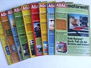 ADAC Motorwelt. 12 Hefte: ADAC (Hrsg.)