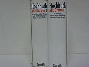 Alle Dramen. 2 Bände: Hochhuth, Rolf