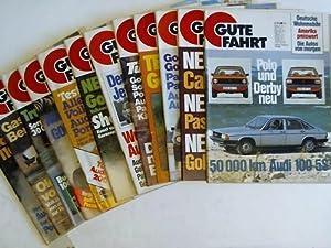 Die Zeitschrift für Autofahrer. Volkswagen Audi Porsche. Jahrgang 1979 in 12 Ausgaben (...