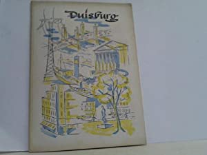 Mappe mit 4 Tourismus- und Werbebroschüren: Duisburg