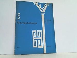Zeitschrift für Wirtschaft und Kultur. Heft 1/61: Schlüssel, Der