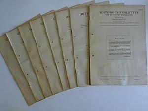Ausgabe B. Fernmeldewesen. 20 Jahrgang. 1967. 11 Hefte (Heft 12 fehlt): Unterrichtsblätter der ...