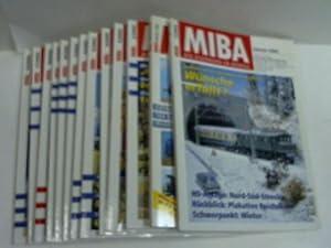 Die Eisenbahn im Modell. Jahrgang 2002. Hefte 1 - 12: MIBA