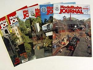 6 verschiedene Ausgaben aus 1997-1999: Modellbahn Journal