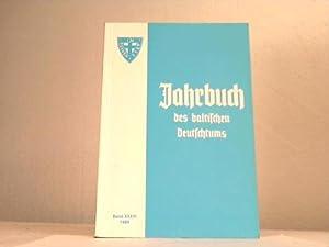 Jahrbuch des baltischen Deutschtums 1989: Carl-Schirren-Gesellschaft e.V. (Hrsg.)