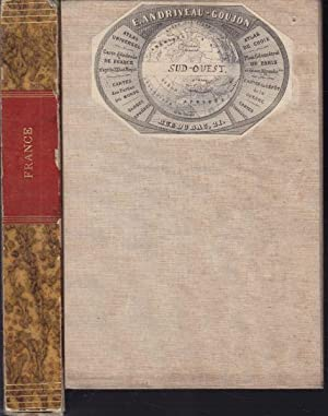 Carte orographique hydrographique et routière de la: ANDRIVEAU-GOUJON, E.