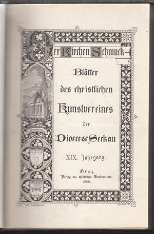 Der Kirchenschmuck. Blätter des christlichen Kunstvereines der