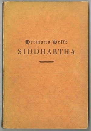 Siddhartha. Eine indische Dichtung.: HESSE, Hermann.