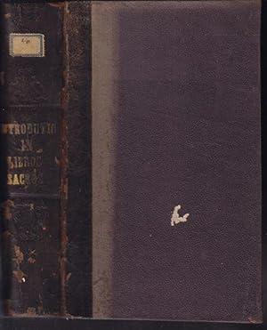 Historicae et criticae Introductionis in U.T. Libros: CORNELY, Rudolph.