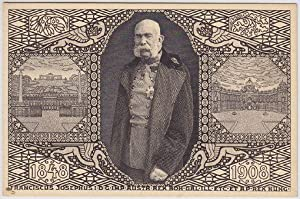 1848. 1908. Franciscus Josephus I. D. G. IMP. Austr. Rex Boh. Gal. Ill. Etc. Et. Ap. Rex. Hung.,