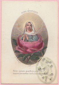 Rose Mystique. Rose sainte, parfum précieux de: TURGIS, L.